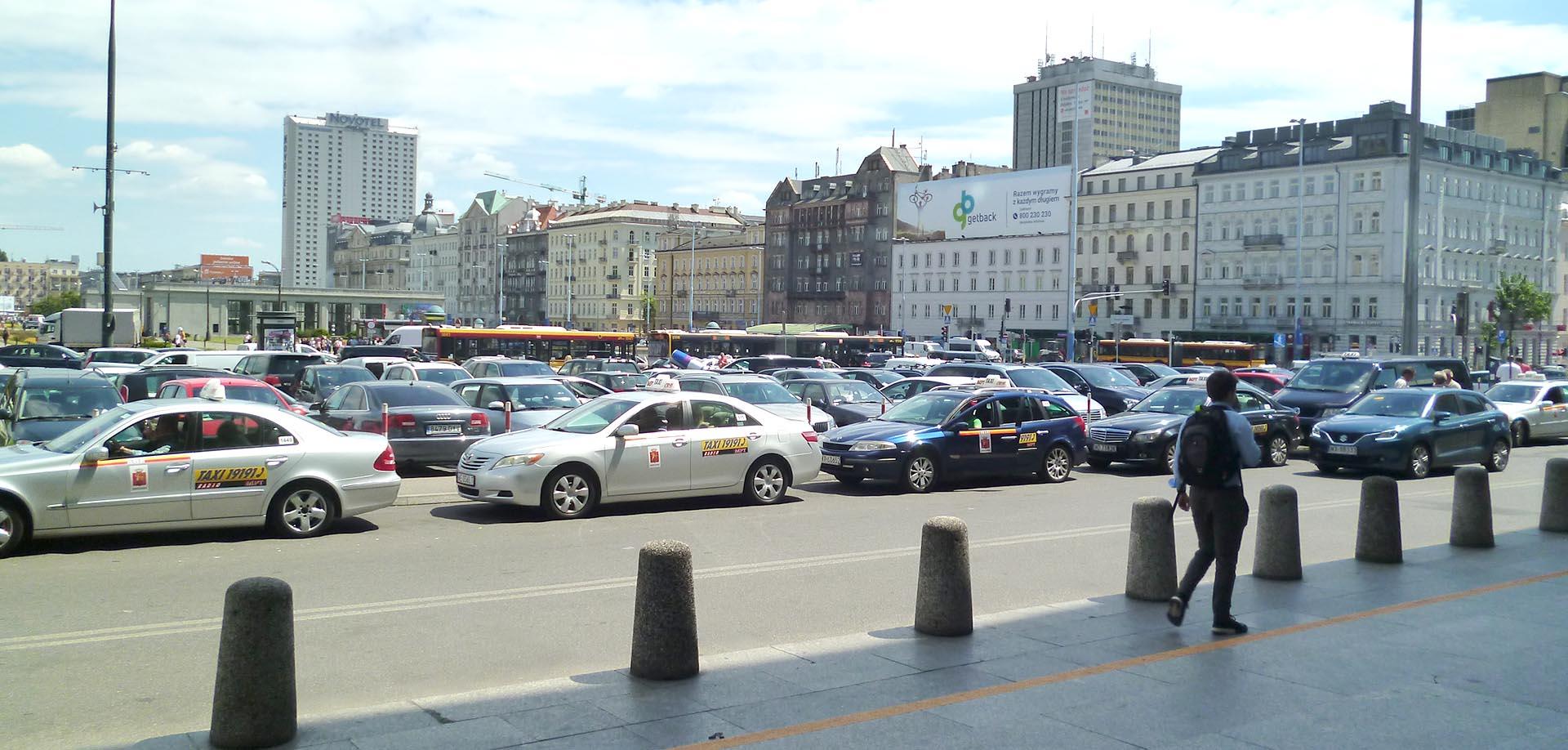 Такси в Польше
