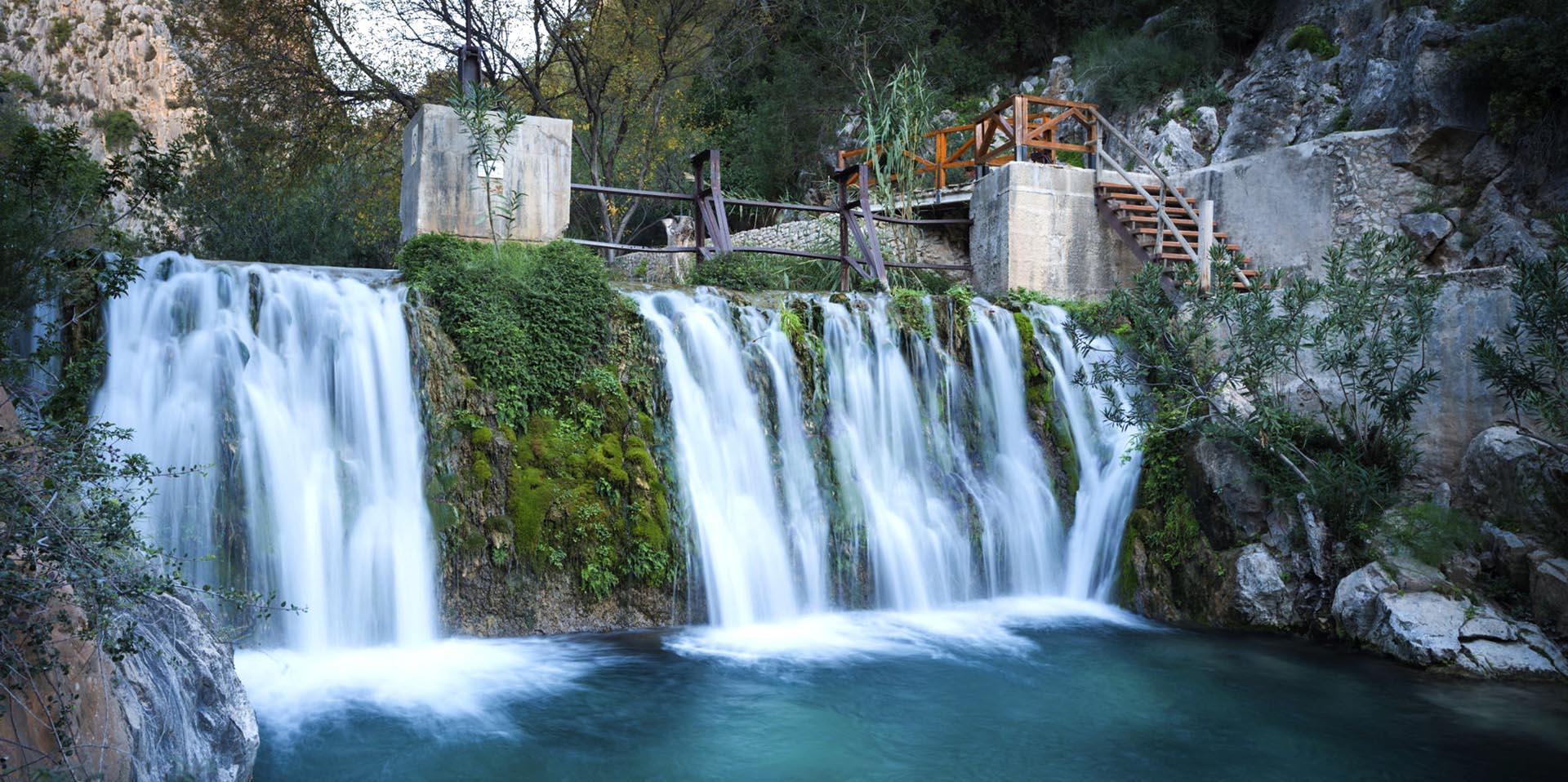 Водопады Аликанте