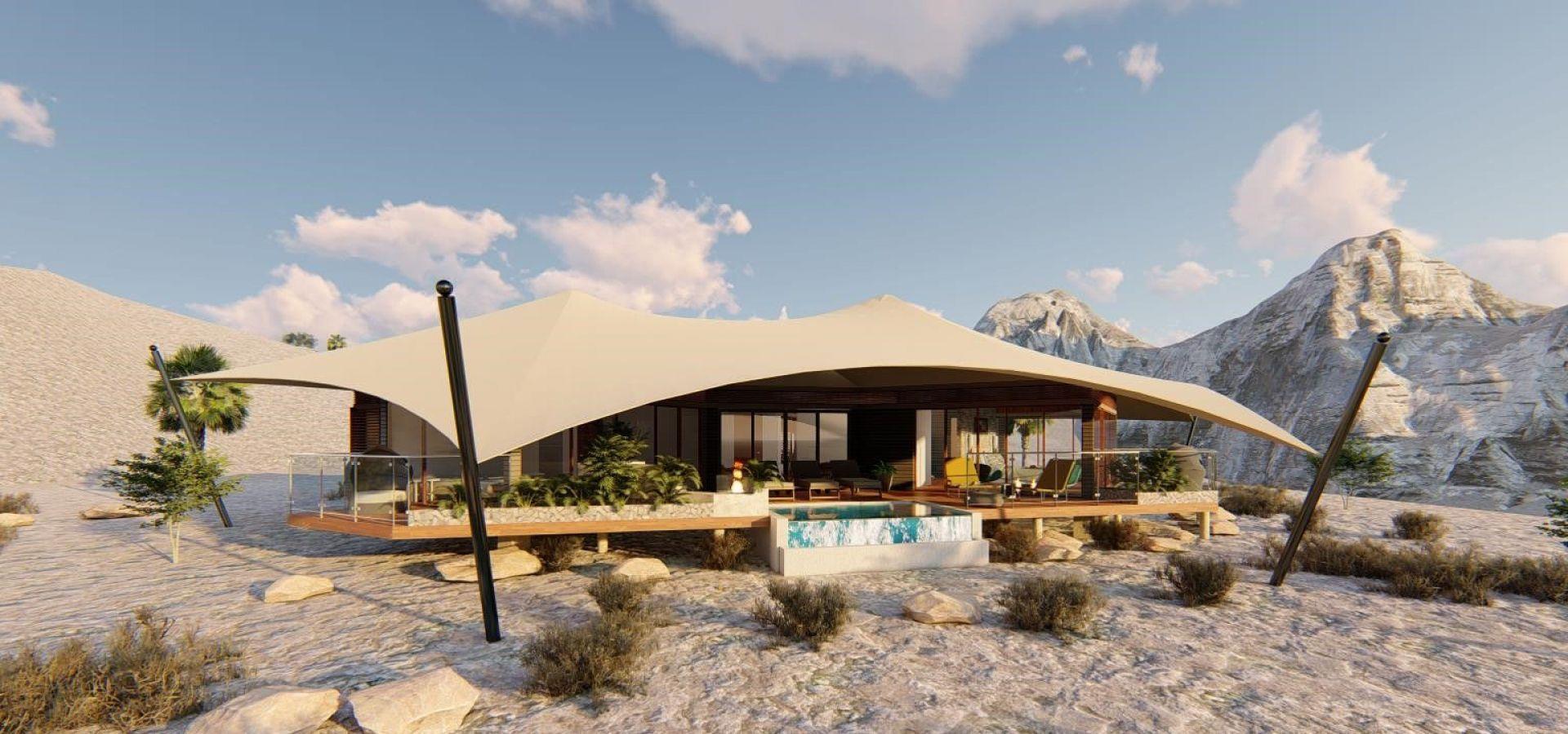 палаточный курорт